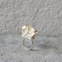 Lyra ring sølv